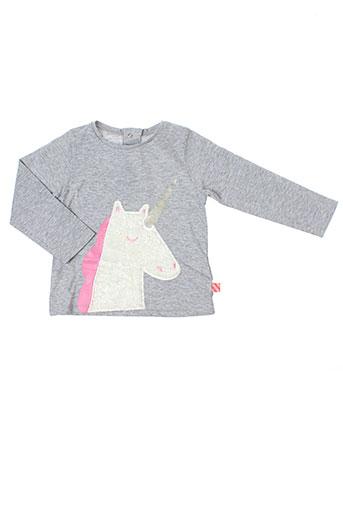 billieblush chemises fille de couleur gris