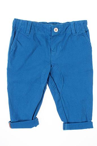 billybandit pantalons garçon de couleur bleu