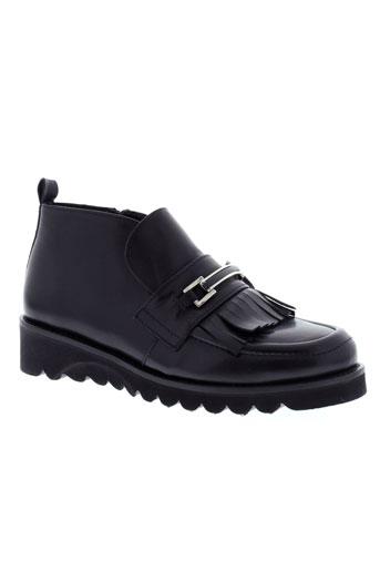 la et fee et maraboutee boots femme de couleur noir