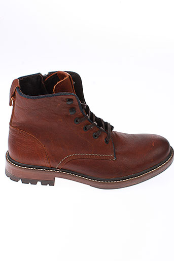salsa bottines homme de couleur marron
