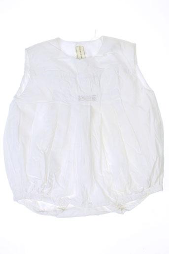 la petite ourse combinaisons enfant de couleur blanc