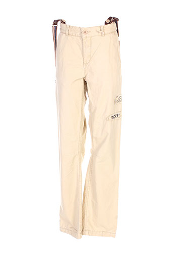 scotch shrunk pantalons garçon de couleur beige