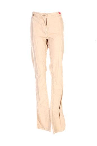 Pantalon casual beige PEPE JEANS pour fille