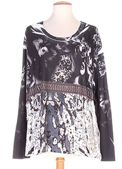Produit-T-shirts / Tops-Femme-SOPHIA CURVY