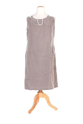 jean gabriel robes femme de couleur gris