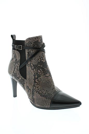 hispanitas boots femme de couleur gris