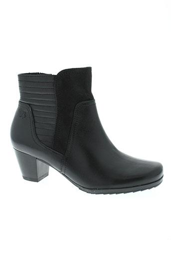 caprice boots femme de couleur noir