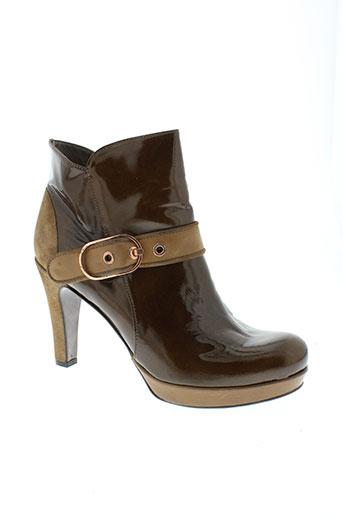 rosemetal boots femme de couleur marron