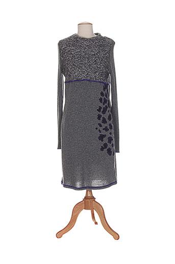 kali orea robes femme de couleur gris