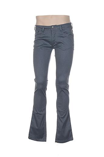 atelier oscar pantalons homme de couleur gris