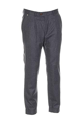 joe san pantalons homme de couleur gris