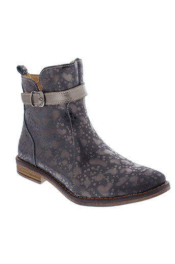 minibel boots fille de couleur marron