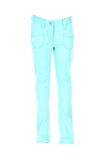 mexx pantalons fille de couleur bleu