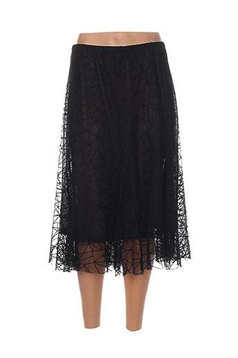 mila cento jupes femme de couleur noir