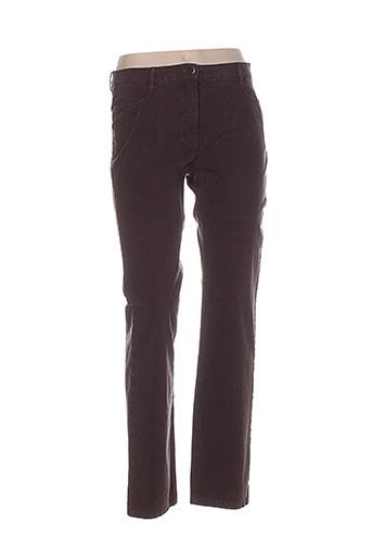 betty barclay pantalons femme de couleur marron