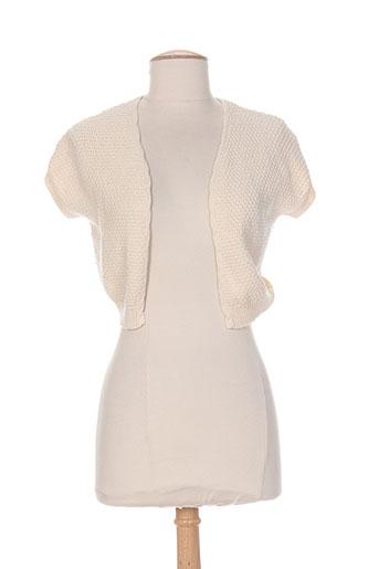 shyde vestes femme de couleur beige