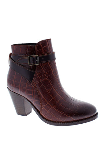 hudson chaussures femme de couleur marron