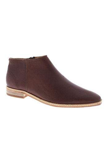hudson boots femme de couleur marron