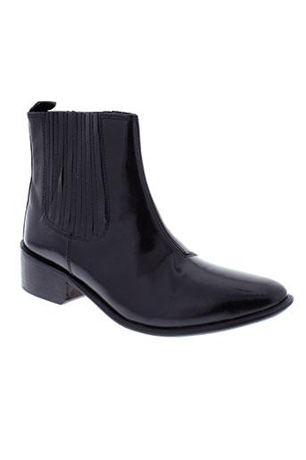 hudson boots femme de couleur noir