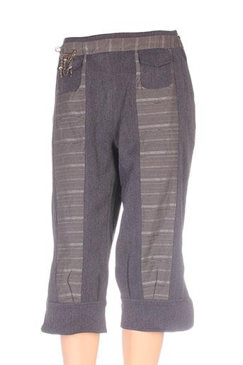 fashion vip shorts / bermudas femme de couleur gris