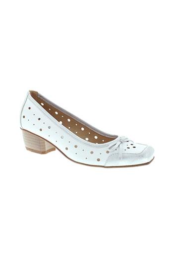 moova chaussures femme de couleur blanc