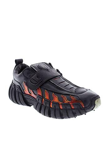 new rock chaussures femme de couleur noir