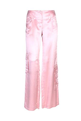 teenflo pantalons femme de couleur rose