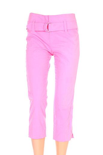 teenflo pantacourts femme de couleur rose