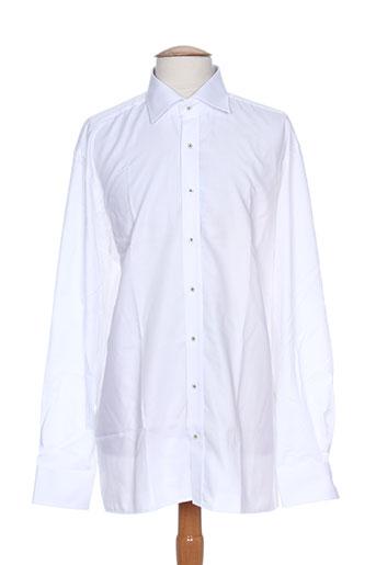 eterna chemises homme de couleur blanc