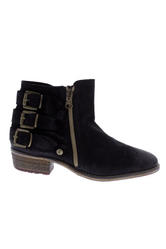 istome boots femme de couleur noir