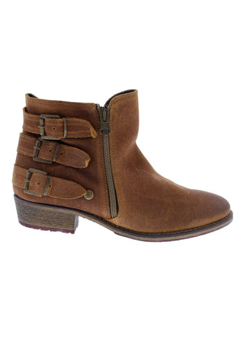 istome boots femme de couleur marron