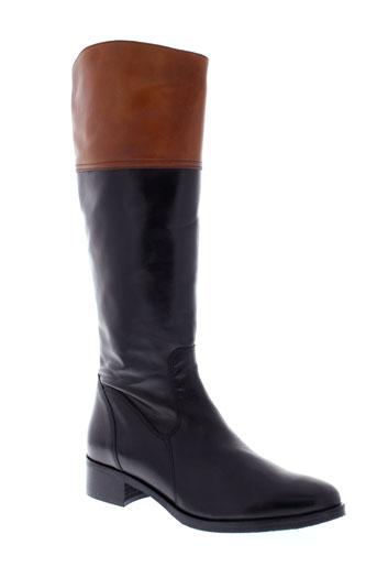 johann bottes femme de couleur noir