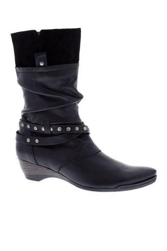 karston bottes femme de couleur noir
