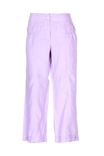 betty barclay pantacourts femme de couleur violet