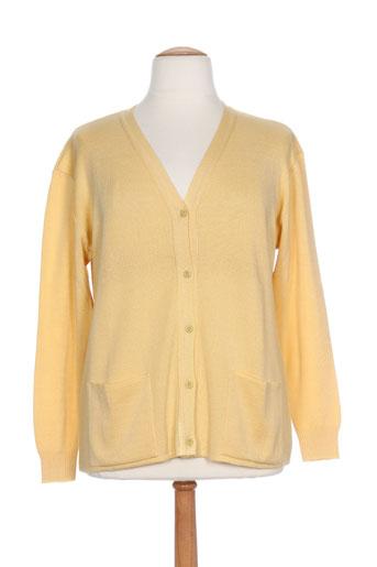 griffon gilets femme de couleur jaune