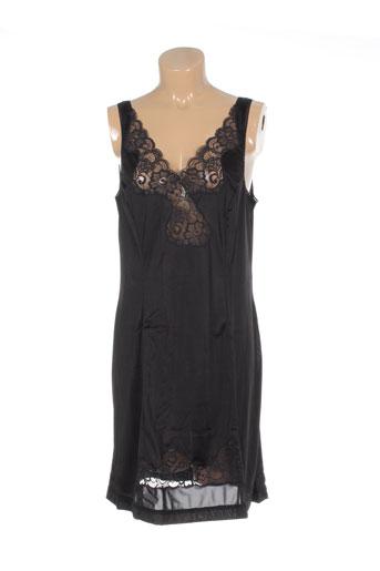20 et 20 jupons et fonds et de et robe femme de couleur noir (photo)