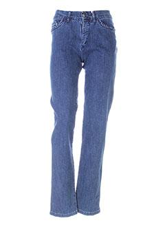 Jeans coupe large bleu AQUAJEANS pour femme