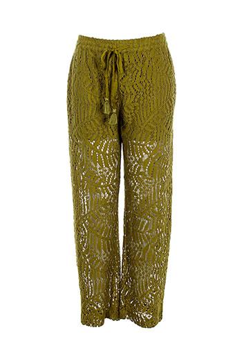 scotch EFFI_CHAR_1 soda pantacourts femme de couleur vert