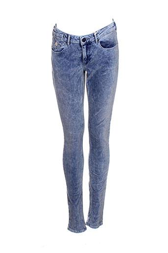 scotch EFFI_CHAR_1 soda pantalons femme de couleur bleu
