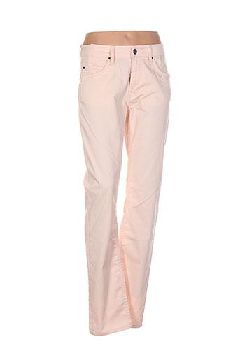 mustang pantalons et decontractes femme de couleur rose