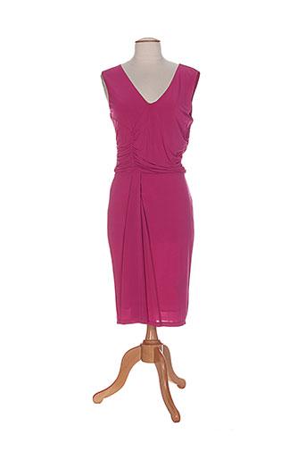 marella robes et longues femme de couleur rose