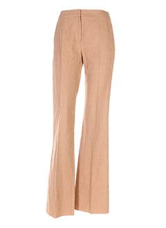 Pantalon chic marron MAXMARA pour femme