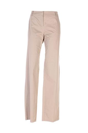 maxmara pantalons femme de couleur vert