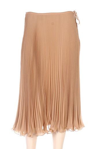 maxmara jupes femme de couleur marron