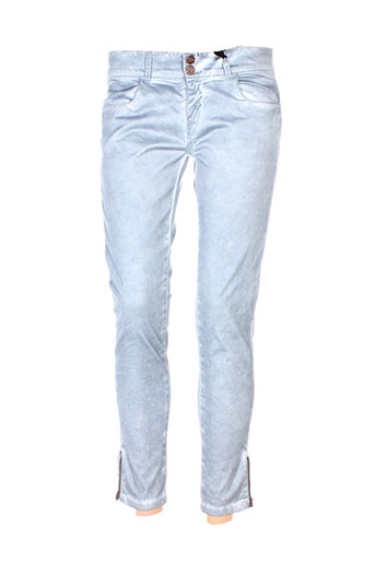 five pm pantalons femme de couleur gris