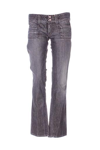 pepe jeans jeans femme de couleur gris