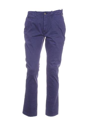 petrol industries pantalons femme de couleur violet