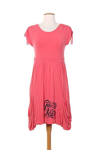 guess robes fille de couleur rose