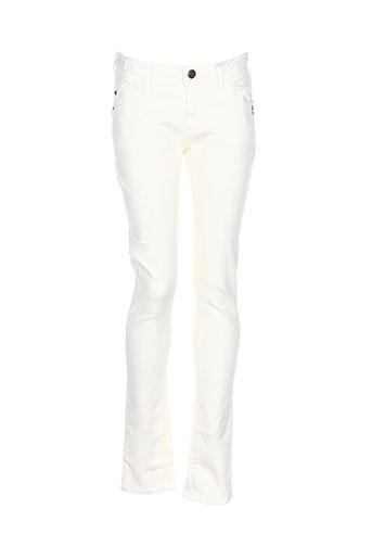 brian EFFI_CHAR_1 nephew pantalons fille de couleur jaune