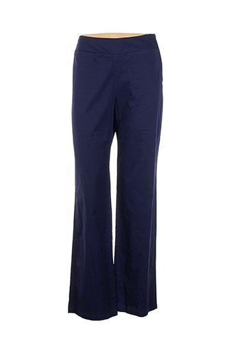 jackpot pantalons femme de couleur bleu